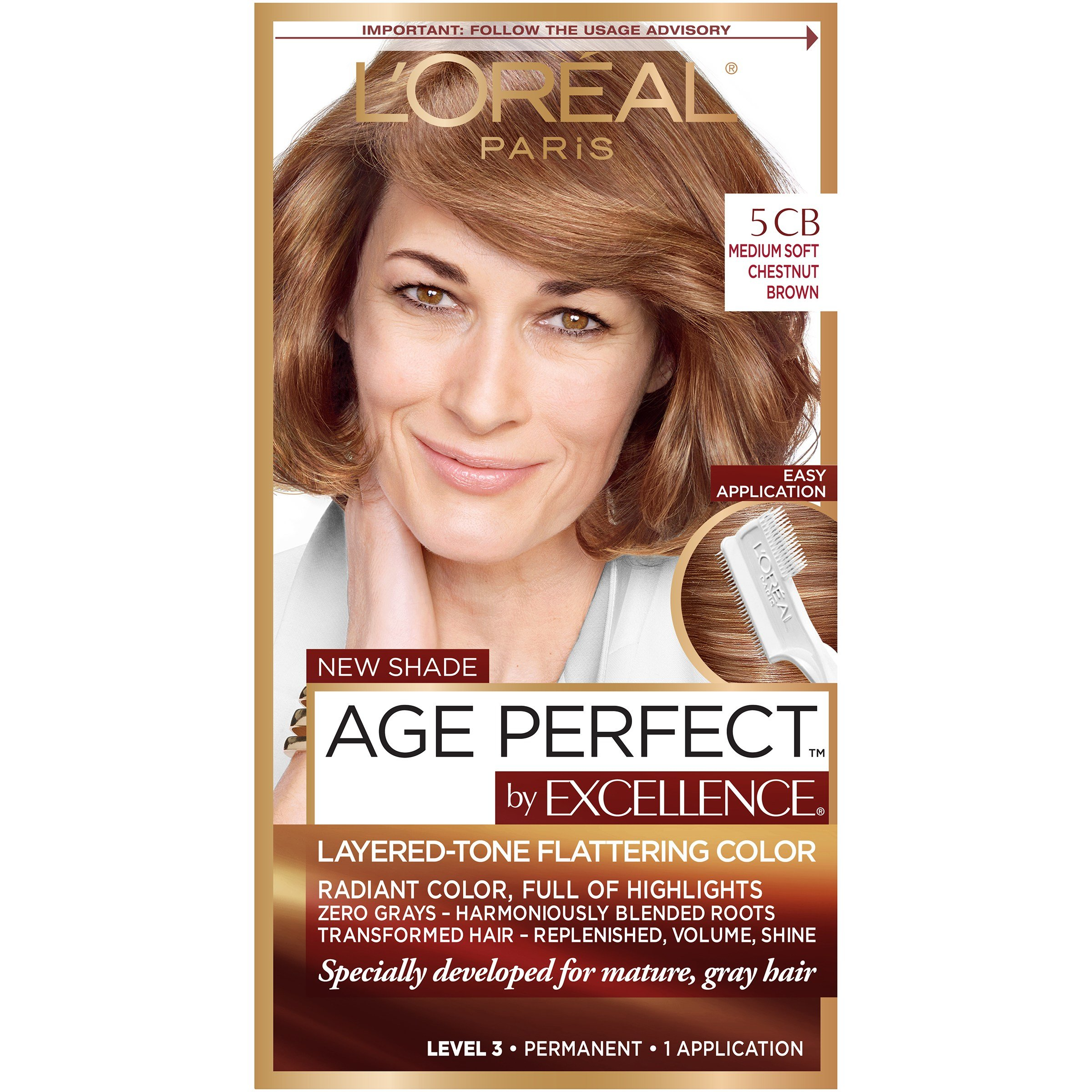 The Best Loreal Paris Age Perfect Permanent Hair Color Ebay Pictures