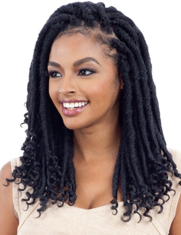 The Best Freetress Synthetic Hair Crochet Braids 2X Cuban Gorgeous Loc 12 Elevate Styles Pictures