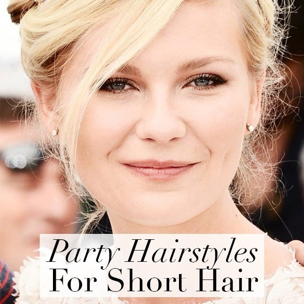 The Best Day 19 Party Hairstyles For Short Hair Hair Extensions Pictures