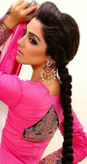 The Best 29 Breathtaking Braided Hairstyles For Indian Women Pictures