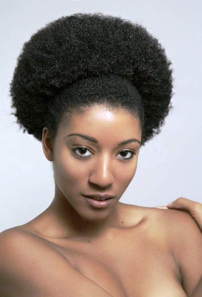The Best 9 Beautiful Afro Hairstyles For Natural Hair Black White Pictures