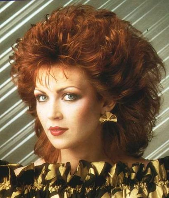 The Best 1980S The Period Of Women S Rock Hairstyles Boom Pictures