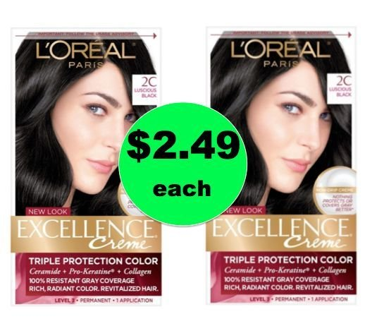 The Best Wash Away The Gray With 2 49 L Oreal Excellence Hair Pictures