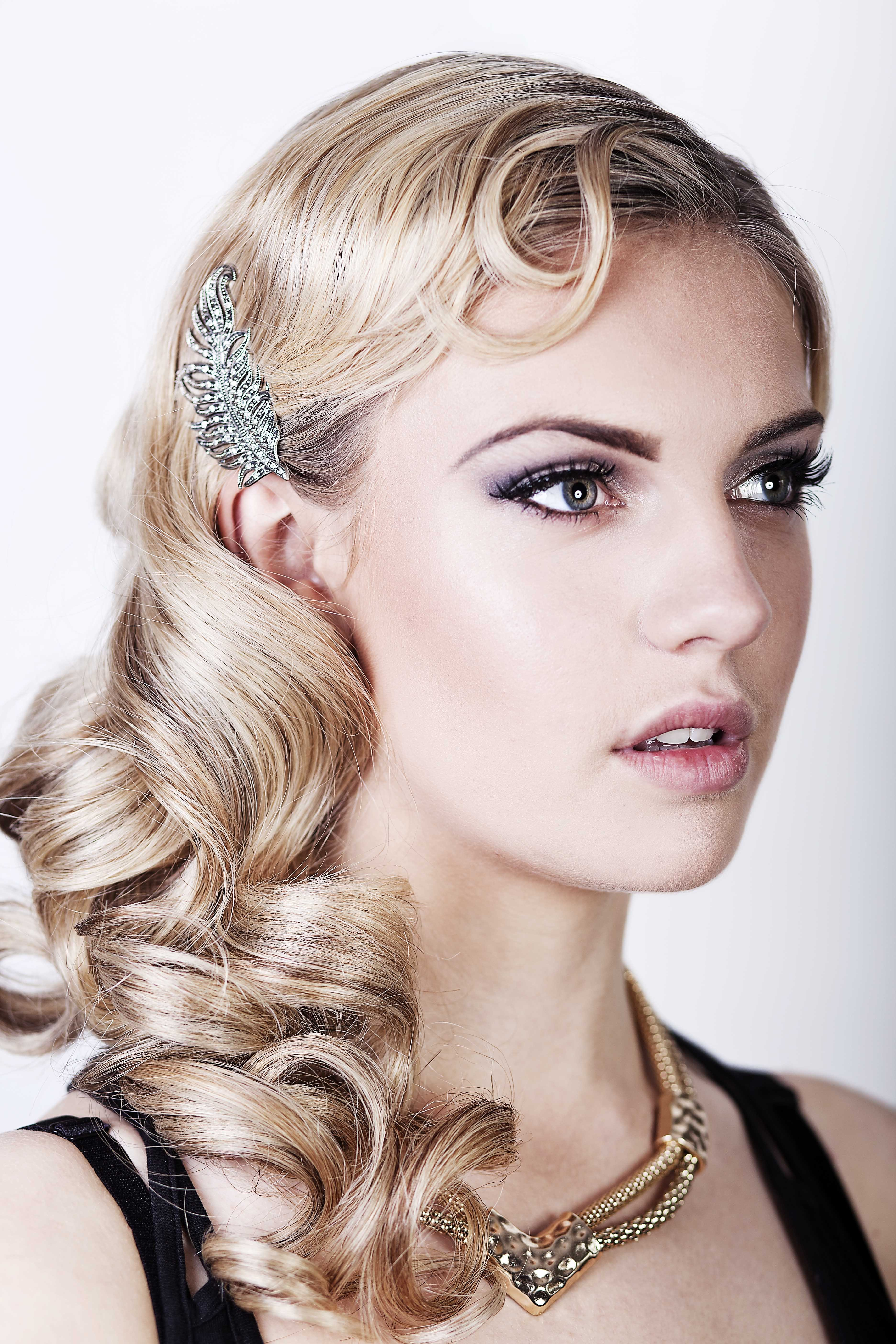 The Best Great Gatsby Hair Tutorial A Vintage Wedding Guide Pictures