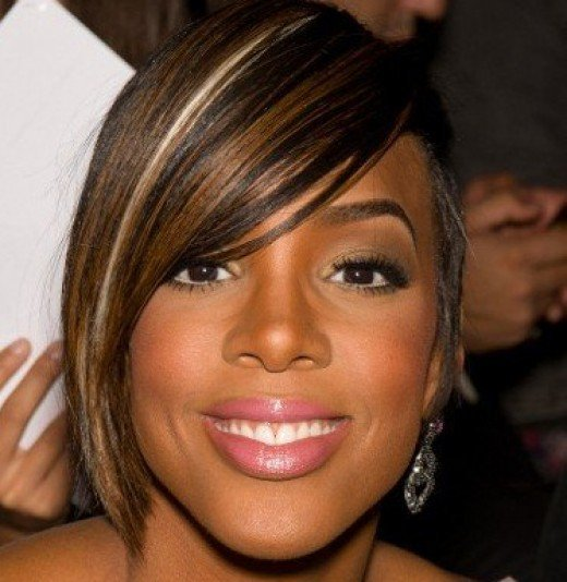 The Best 5 Black Women Celebrities With Fashionable Highlights Pictures
