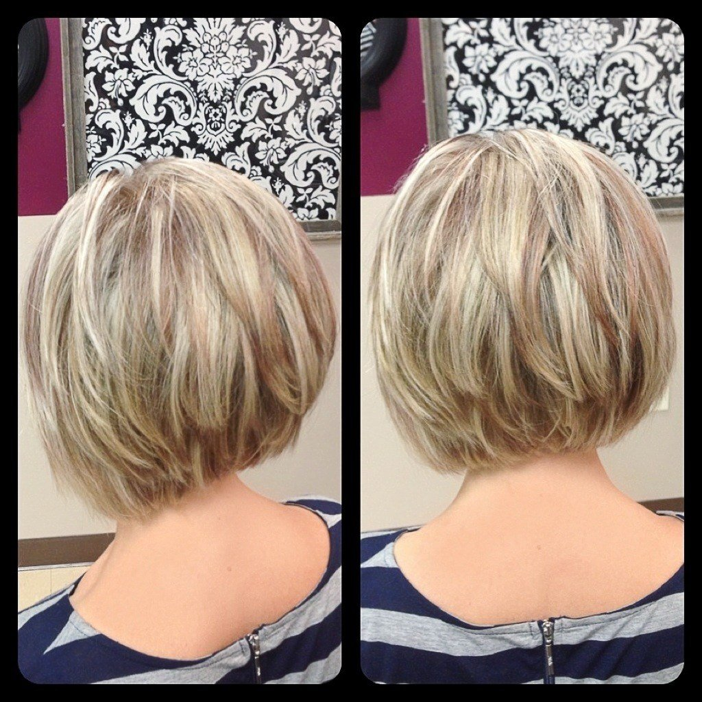 The Best Short Layered Bob Hairstyles Back View Hairstyle For Pictures