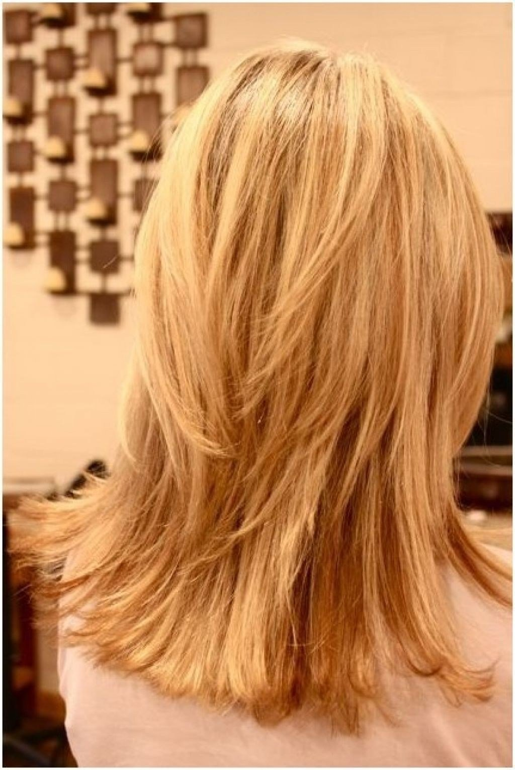 The Best Back Of Medium Hairstyles Hairstyle For Women Man Pictures