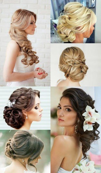 The Best Gorgeous Wedding Day Hairstyles Pictures
