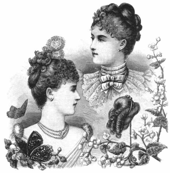The Best 1880S Evening Hairstyle Pictures