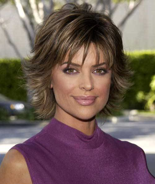 The Best Lisa Rinna Hairstyles Hairstylo Pictures