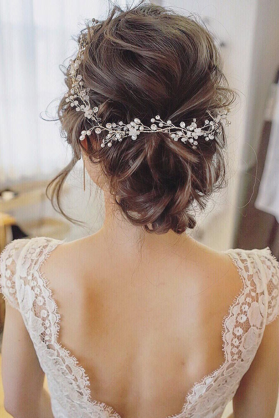 The Best 25 Chic Updo Wedding Hairstyles For All Brides Pictures