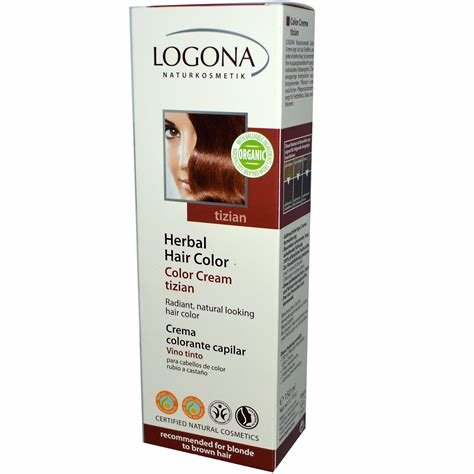 The Best Logona Naturkosmetik Herbal Hair Color Cream Tizian 5 Pictures
