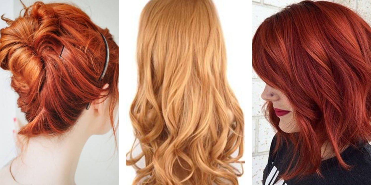 The Best Most Popular Red Hair Color Shades Matrix Pictures