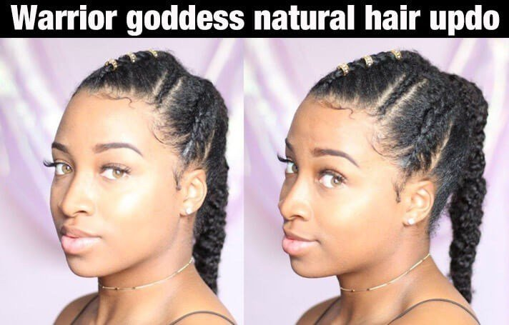 The Best 10 Beautiful 4C Natural Hairstyles For This Summer Pictures