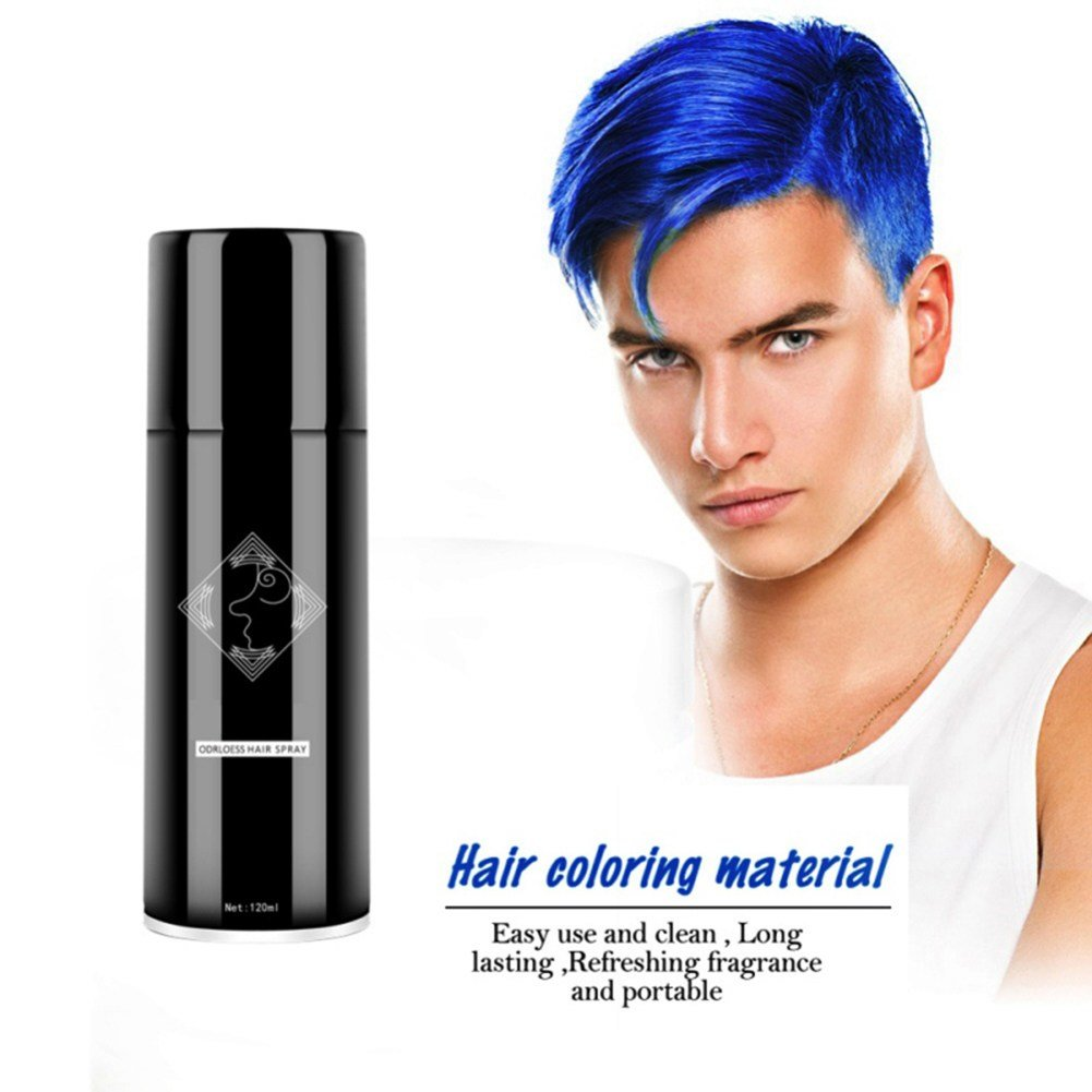 The Best Party Cosplay Men Women Temporary Hair Color Spray Instant Pictures