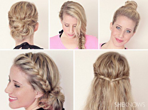 The Best Quick And Easy Hairstyles For Long Hair Sophie Pictures
