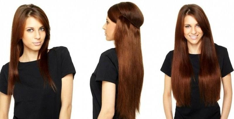 The Best Invisible Wire Hair Extension Weft Straight Remy 120 Gram Pictures