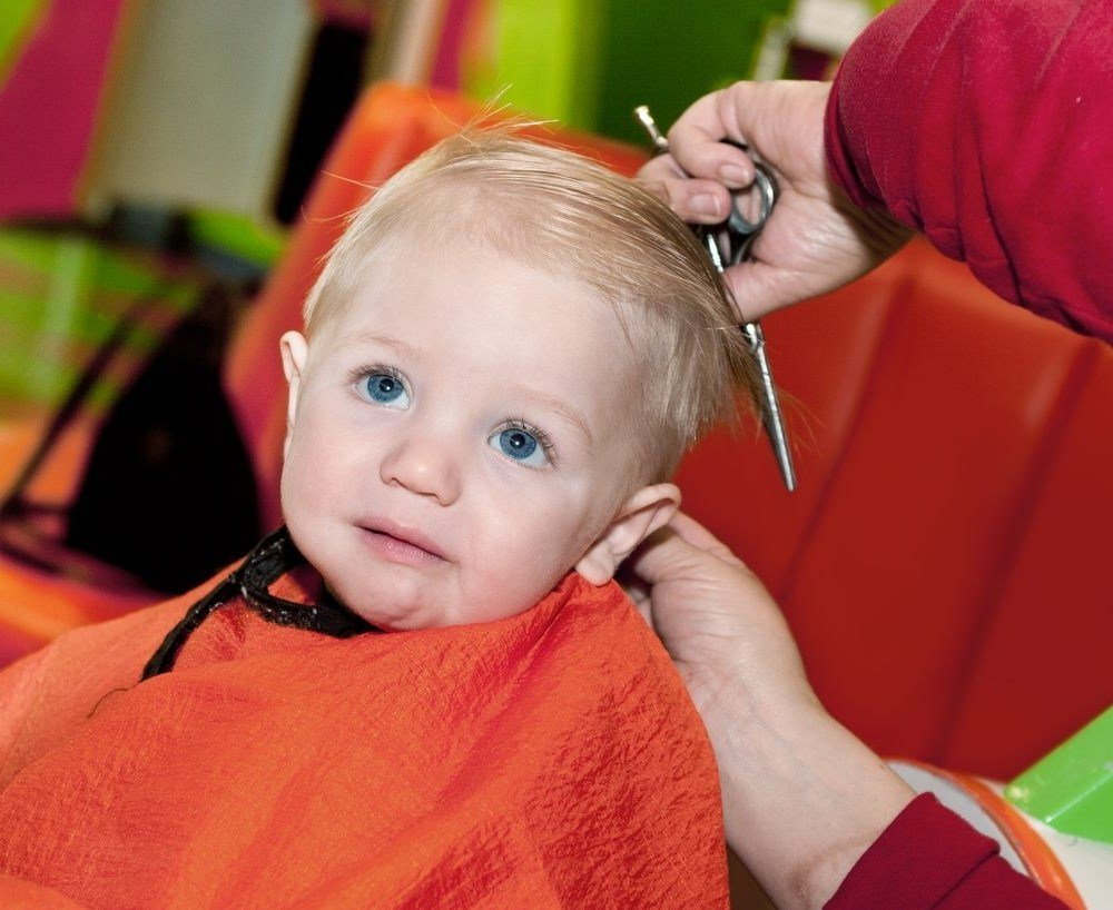 The Best Baby Boy First Haircut Age Fade Haircut Pictures