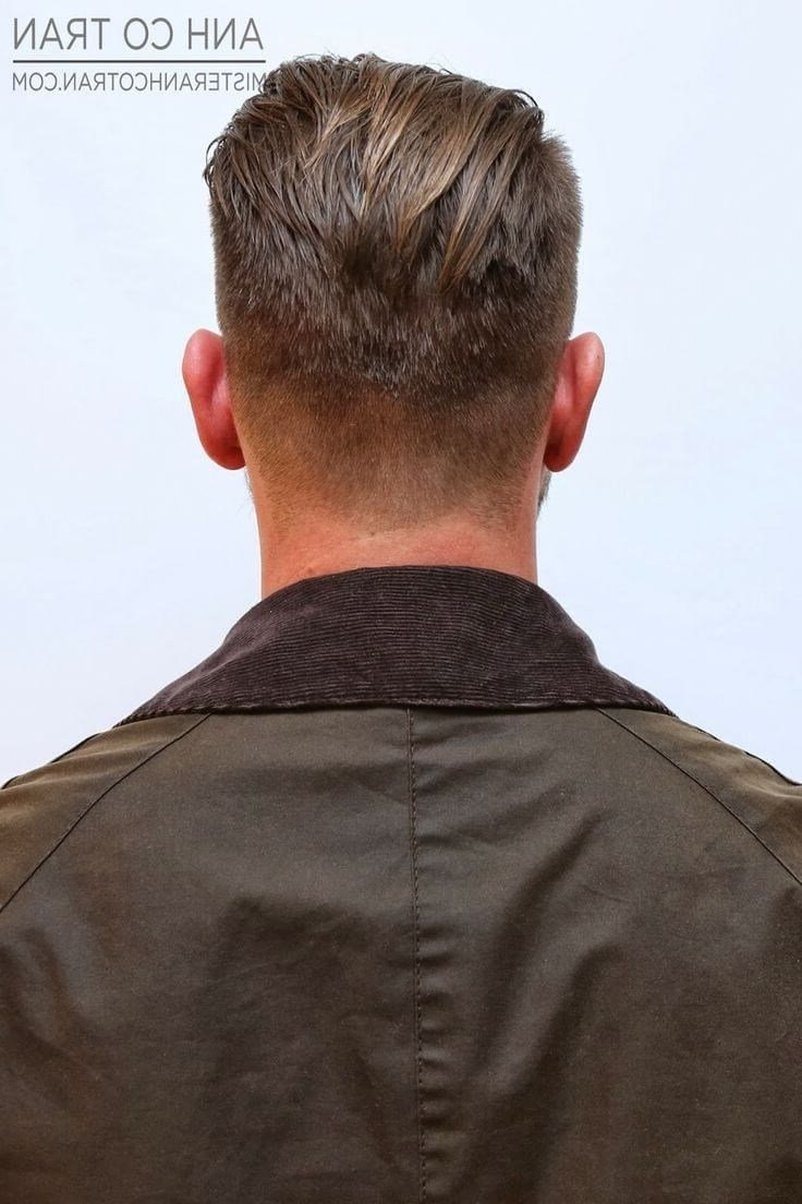 The Best Undercut Hairstyle Back Of Head Fade Haircut Pictures