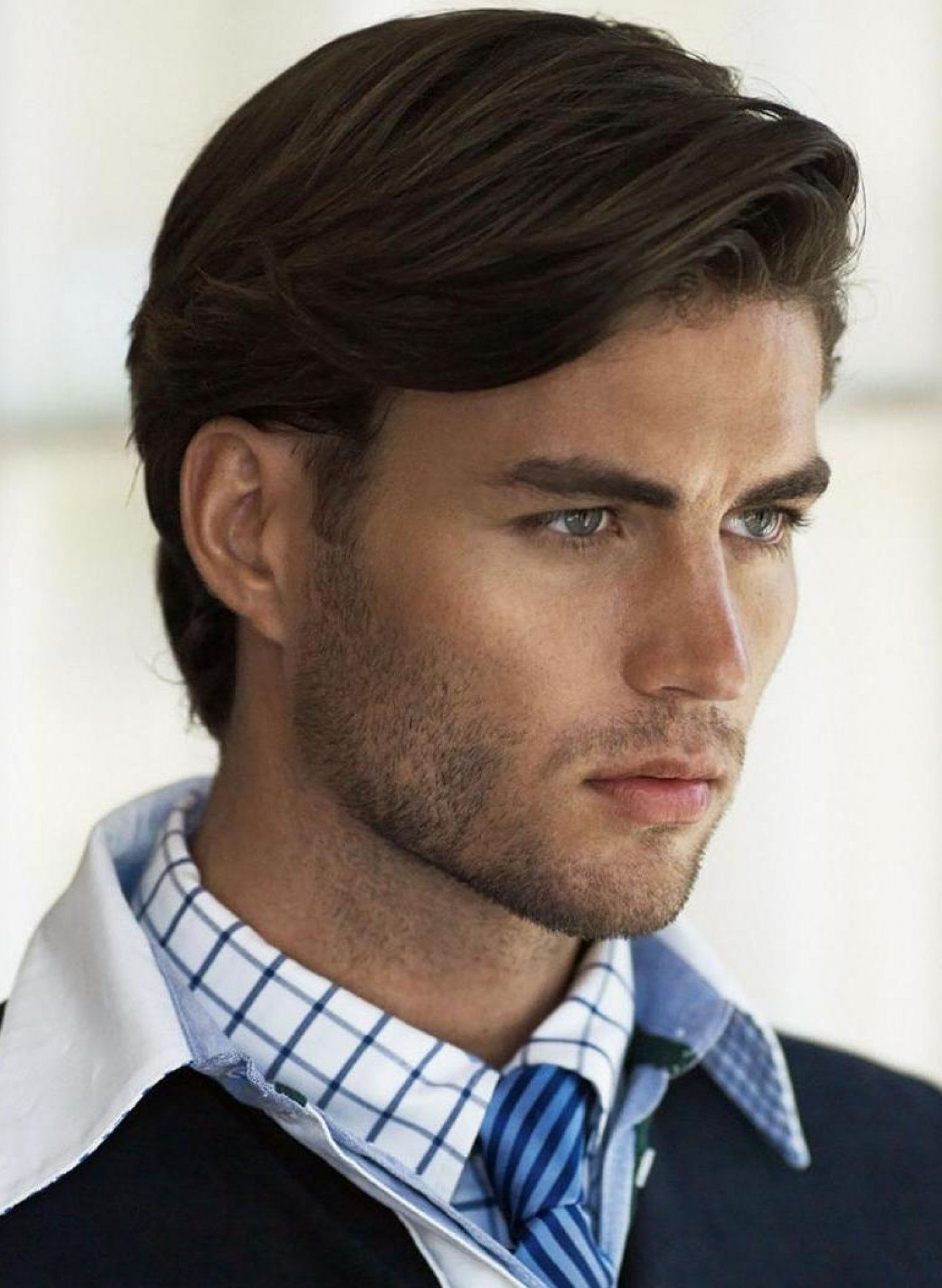 The Best Straight Medium Hairstyles Men Fade Haircut Pictures