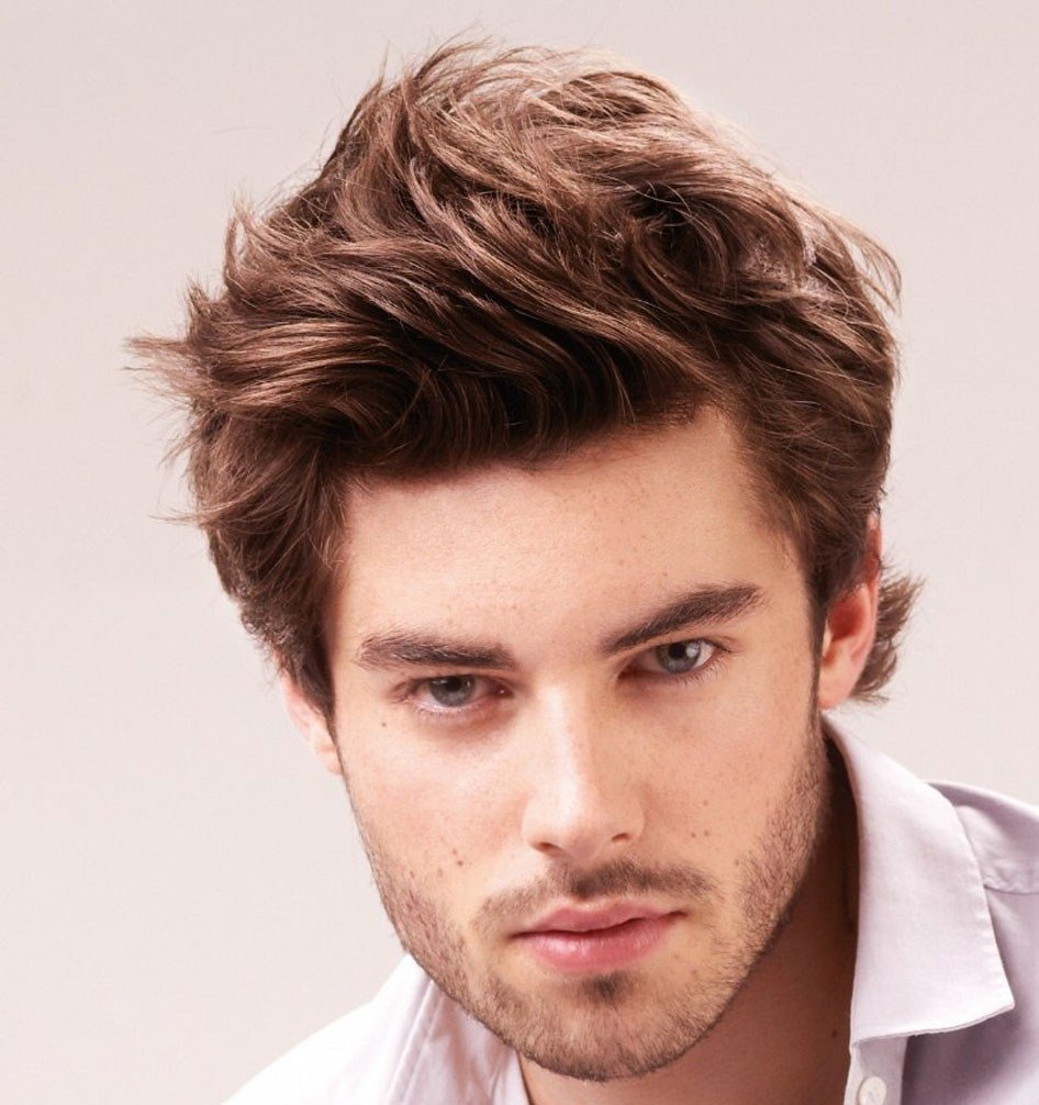 The Best Mens Messy Hairstyles 2012 Fade Haircut Pictures