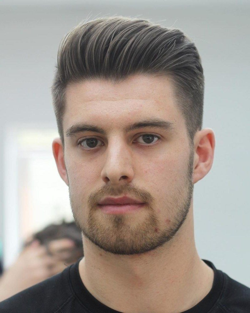 The Best Hairstyles Men Oval Face Fade Haircut Pictures