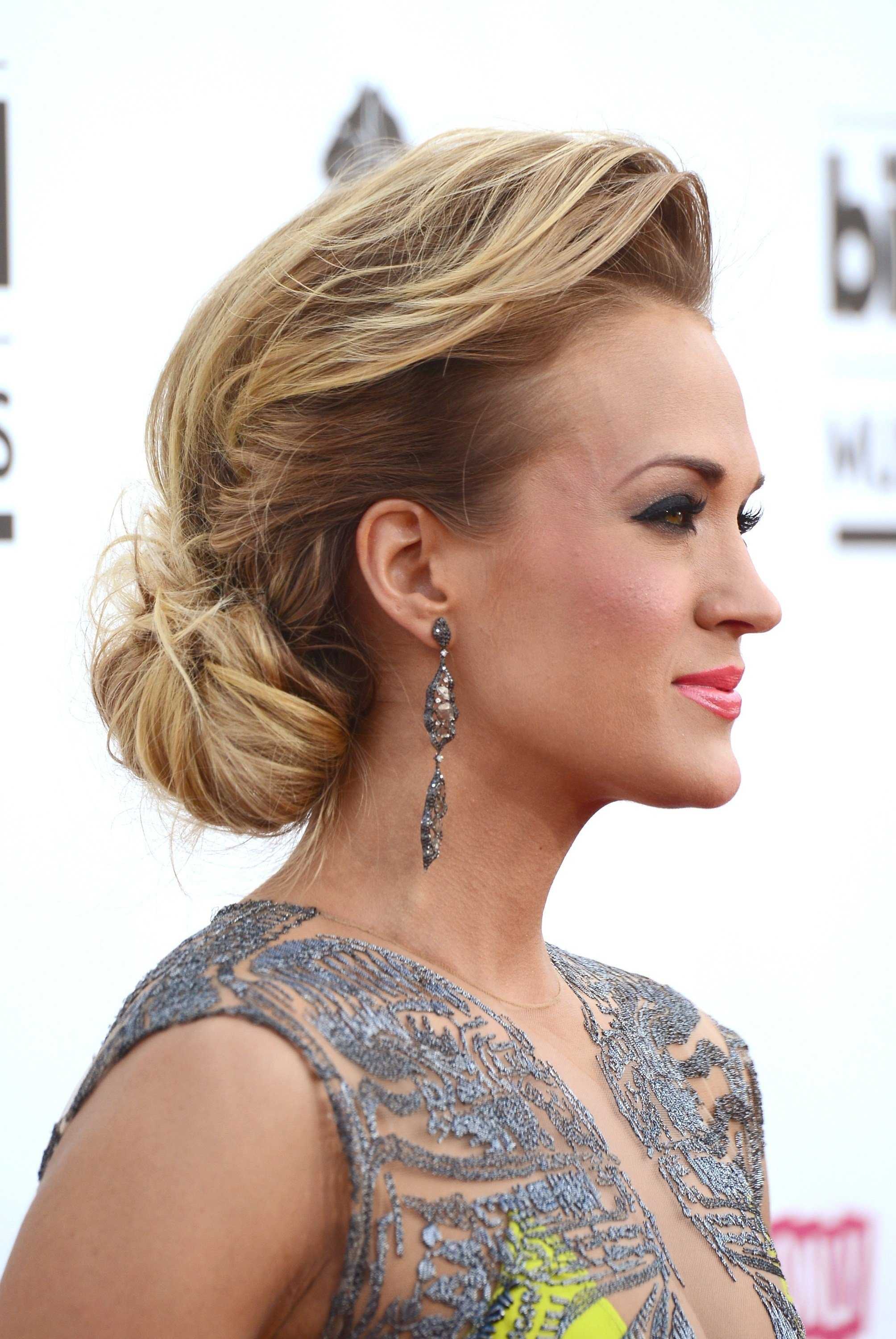 The Best Celebrity Updo Hairstyles Fade Haircut Pictures