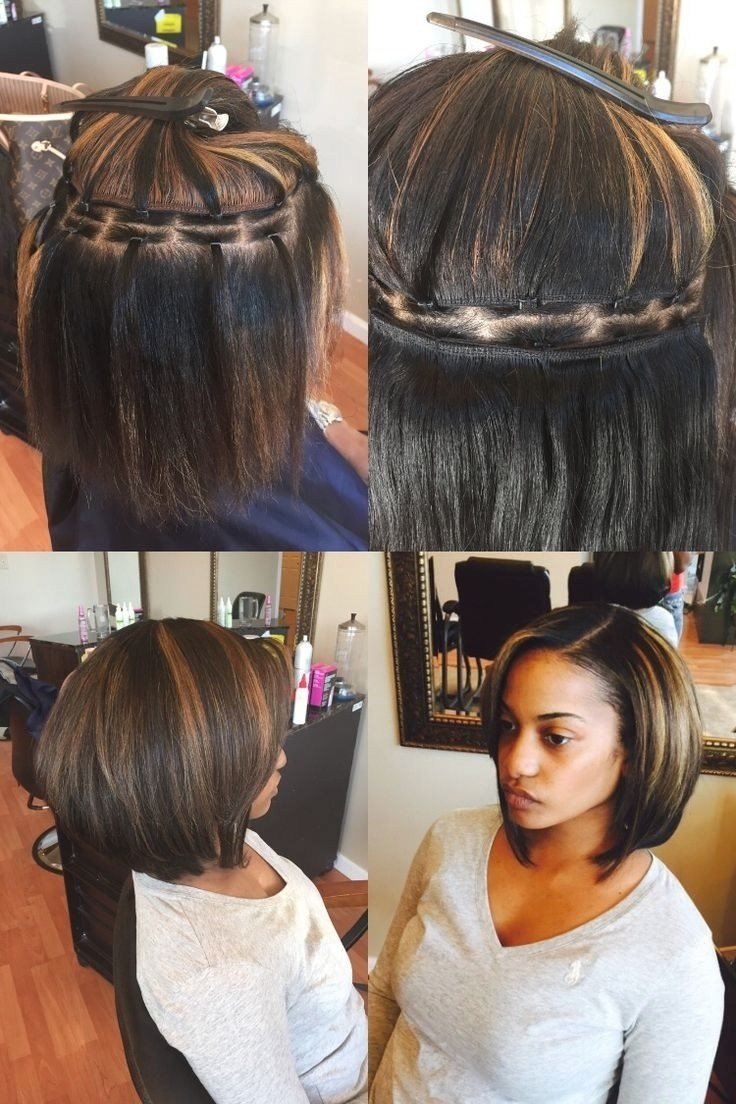 The Best Short Sew In Bob Hairstyles Fade Haircut Pictures