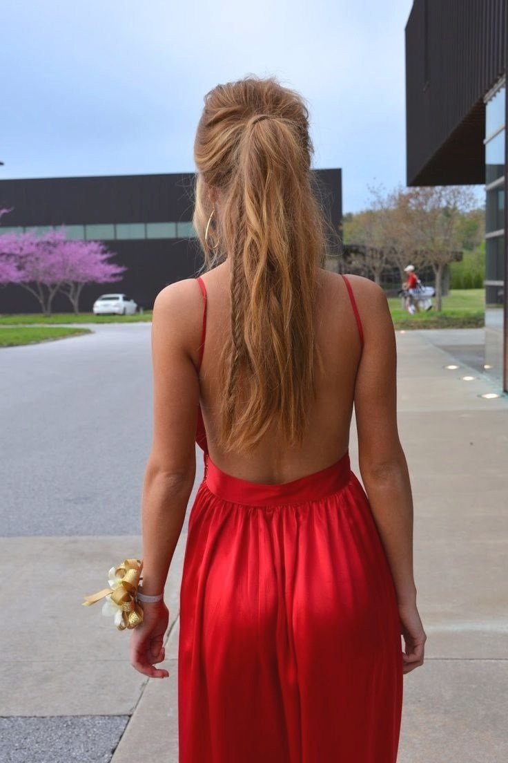 The Best Open Back Dress Hairstyles Fade Haircut Pictures