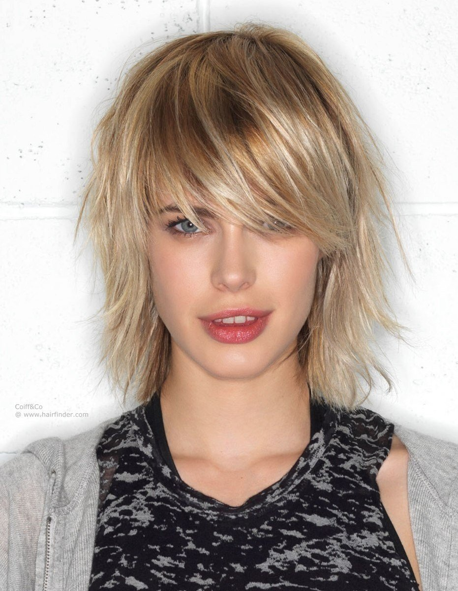 The Best Medium Feathered Hairstyles Fade Haircut Pictures