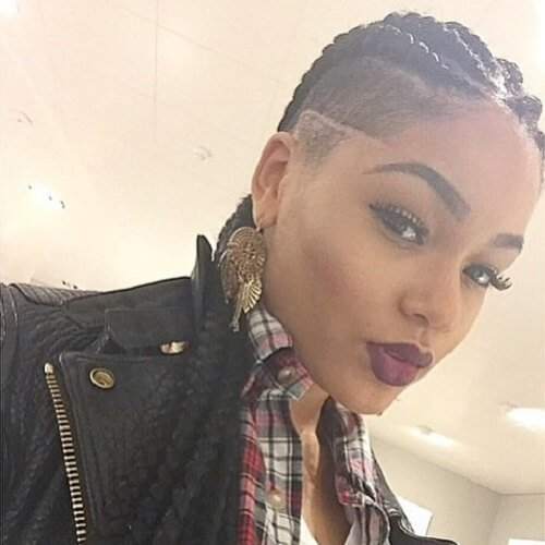 The Best 50 Wicked Shaved Hairstyles For Black Women Hair Motive Hair Motive Pictures