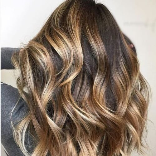 The Best 50 Highlights With Fabulous Effects On Dark Brown Hair Hair Motive Hair Motive Pictures