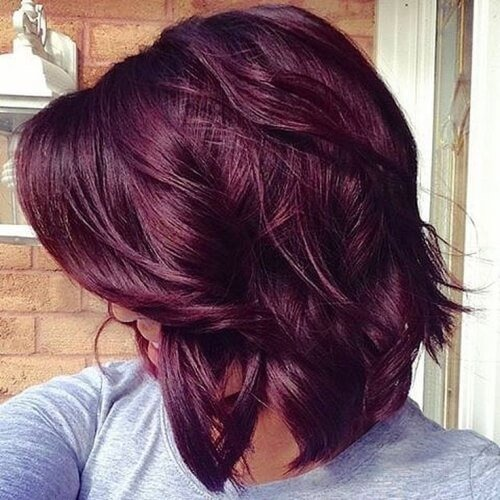 The Best 50 Plum Hair Color Ideas That Will Make You Feel Special Pictures