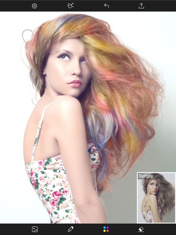 The Best Hair Color Changer Styles Salon Recolor Booth App Pictures