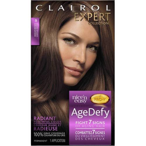 The Best Clairol Expert Collection Age Defy Hair Color 5 Medium Pictures
