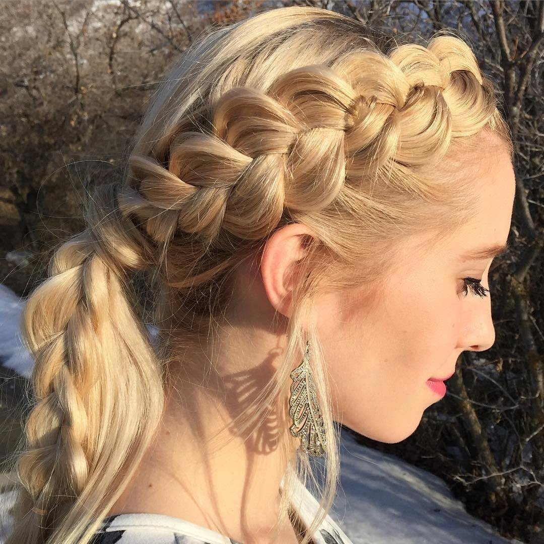 The Best 25 Side Braid Hairstyle Designs Ideas Design Trends Pictures