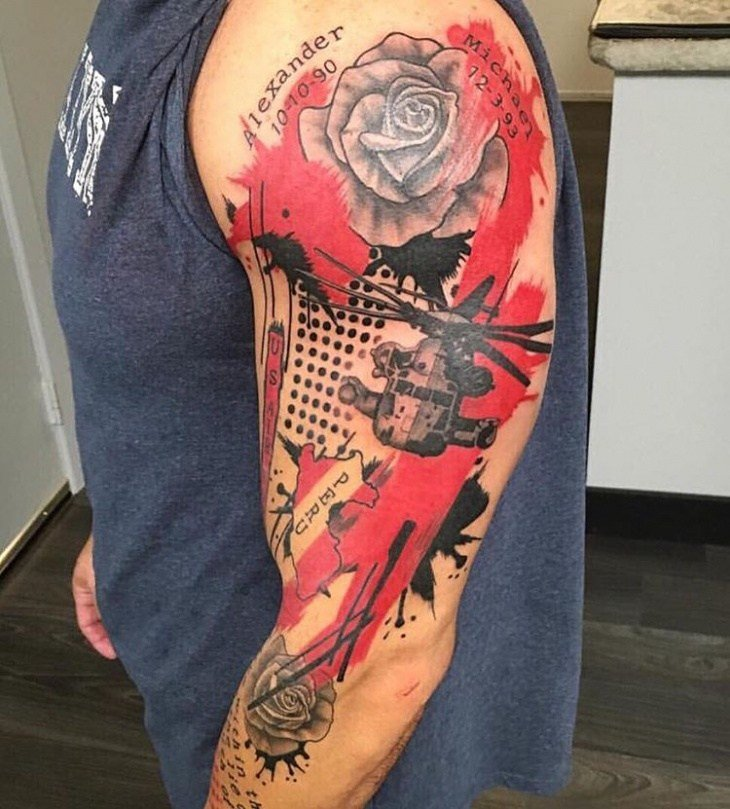 The Best 21 Helicopter Tattoo Designs Ideas Design Trends Pictures