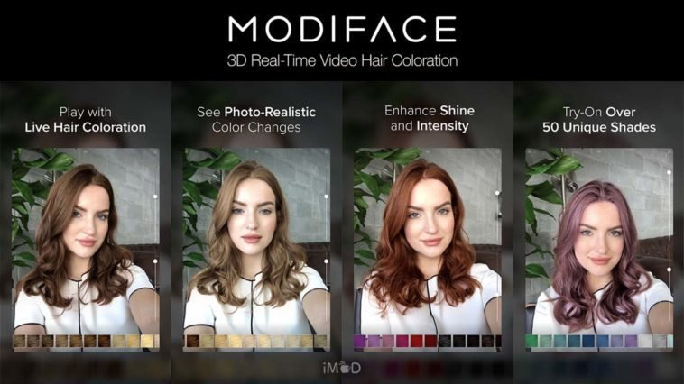 The Best Hair Color By Modiface แอปเปลี่ยนสีผมแบบสุดเนียน ผ่านกล้อง Pictures