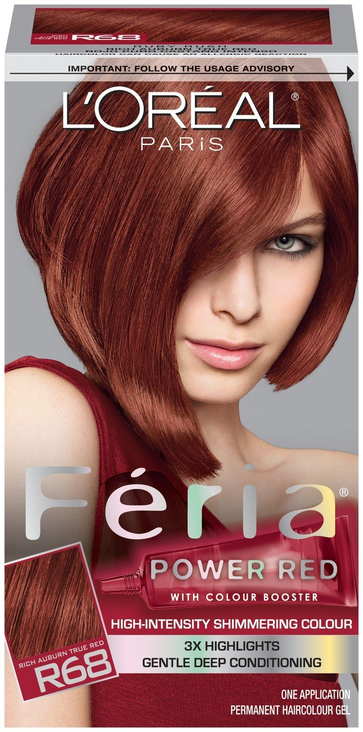 The Best L Oreal Paris Feria Multi Faceted Shimmering Color R68 Pictures