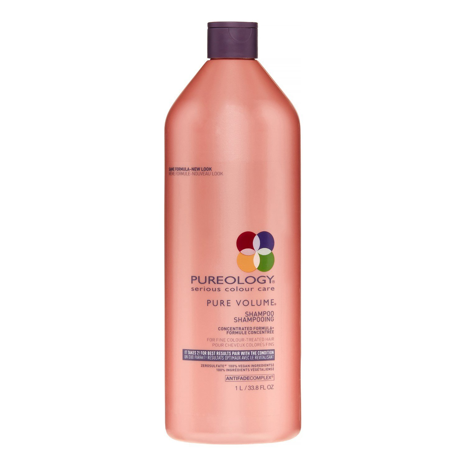 The Best Pureology Pure Volume Vegan Shampoo 33 8 Fl Oz Jet Com Pictures