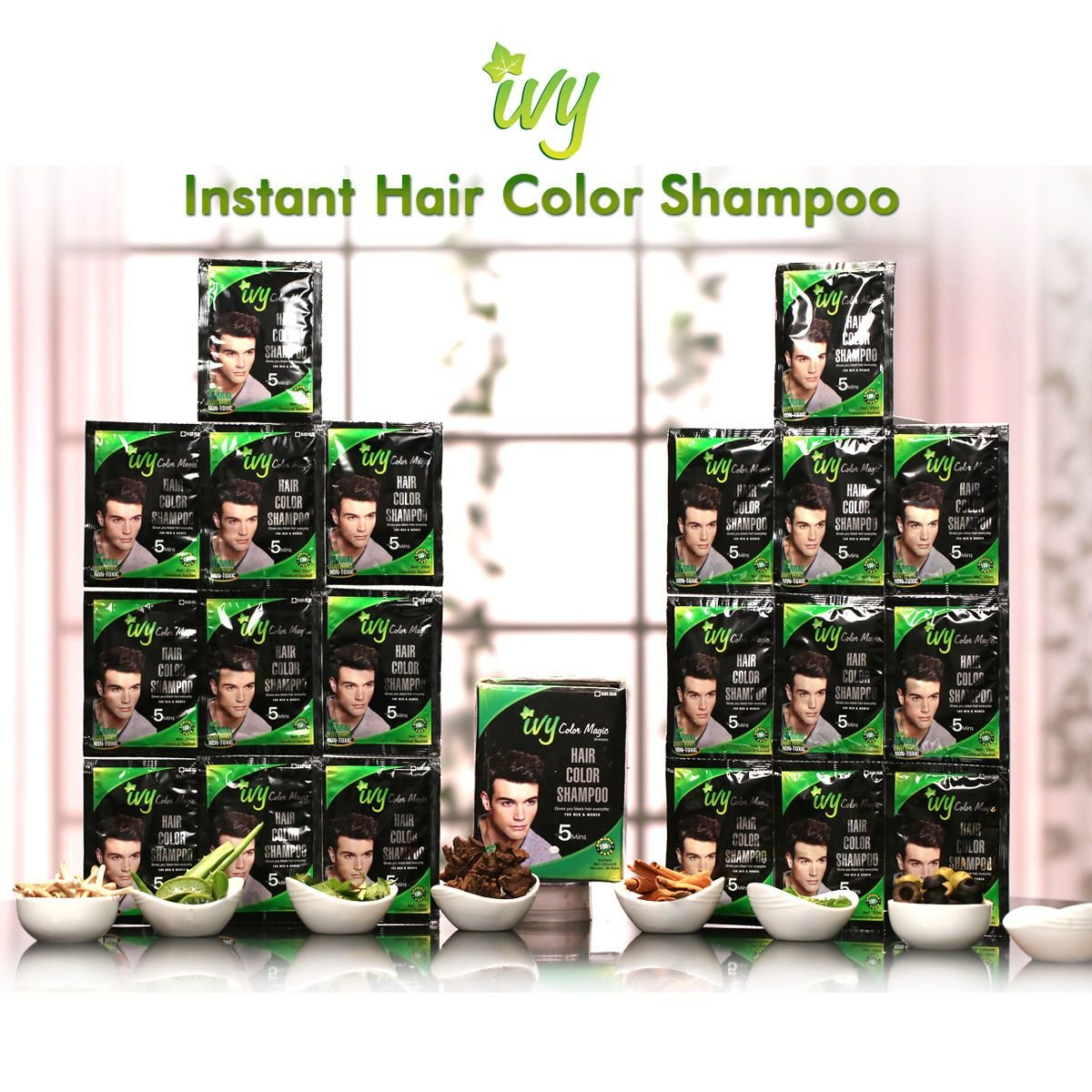 The Best Buy Ivy Instant Hair Colour Shampoo Online At Best Price Pictures