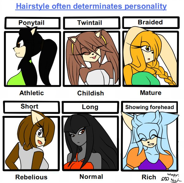 The Best Hairstyle Personality My Oc S By Luchiakingdom On Deviantart Pictures