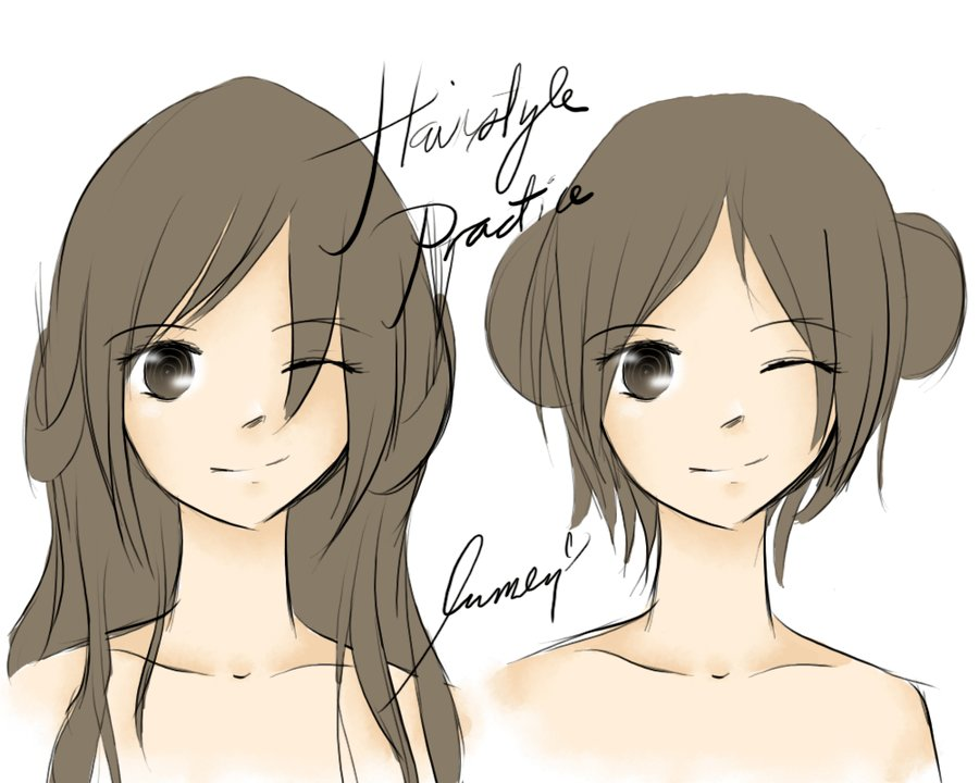 The Best Hairstyle Practice By Katara Watertribe 14 On Deviantart Pictures