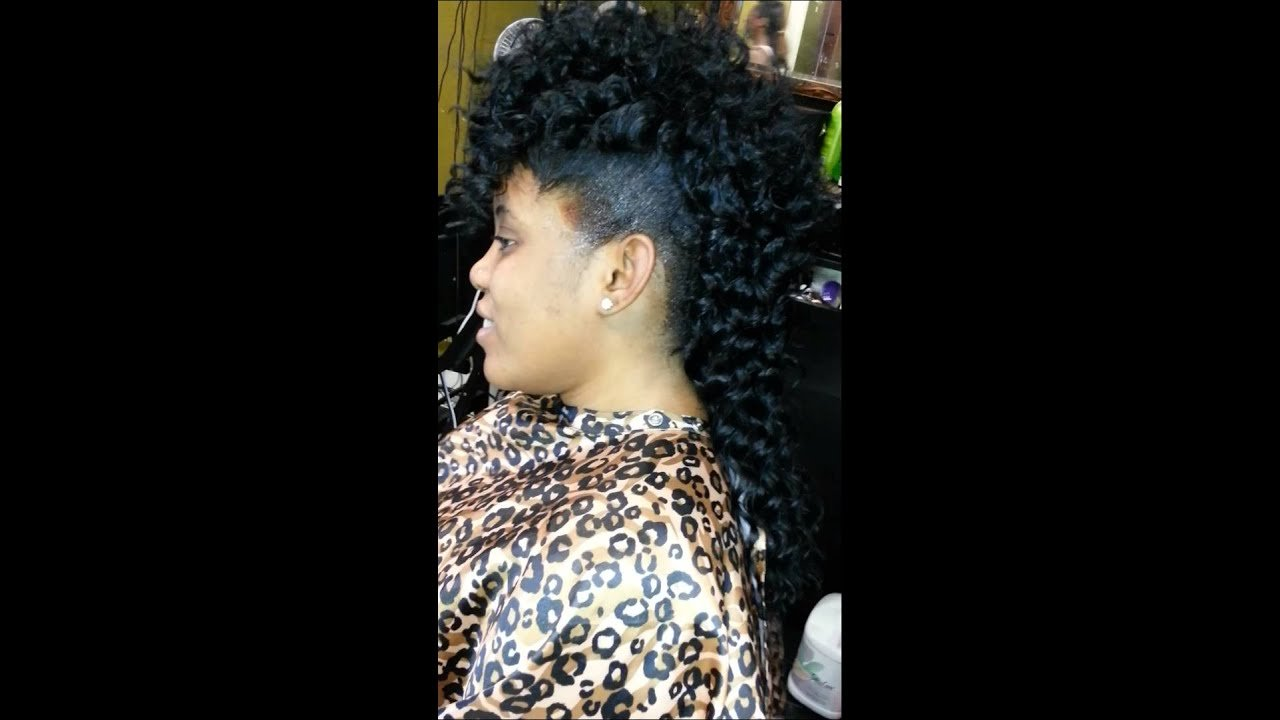 The Best Mohawk Deep Wave Candymanee Com Jadahair Quick Weave Youtube Pictures