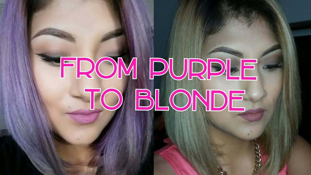 The Best How To Remove Purple From Hair Kmanzo01 Youtube Pictures