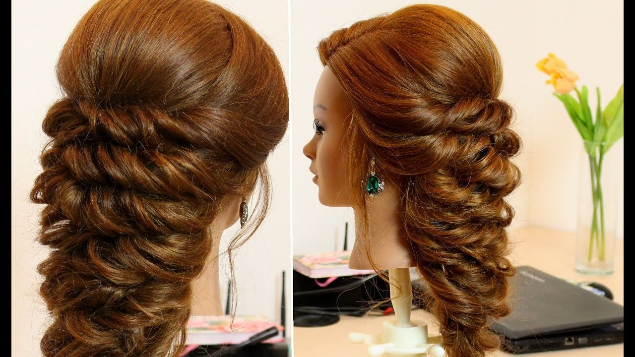 The Best Easy Hairstyle For Long Hair Tutorial Youtube Pictures