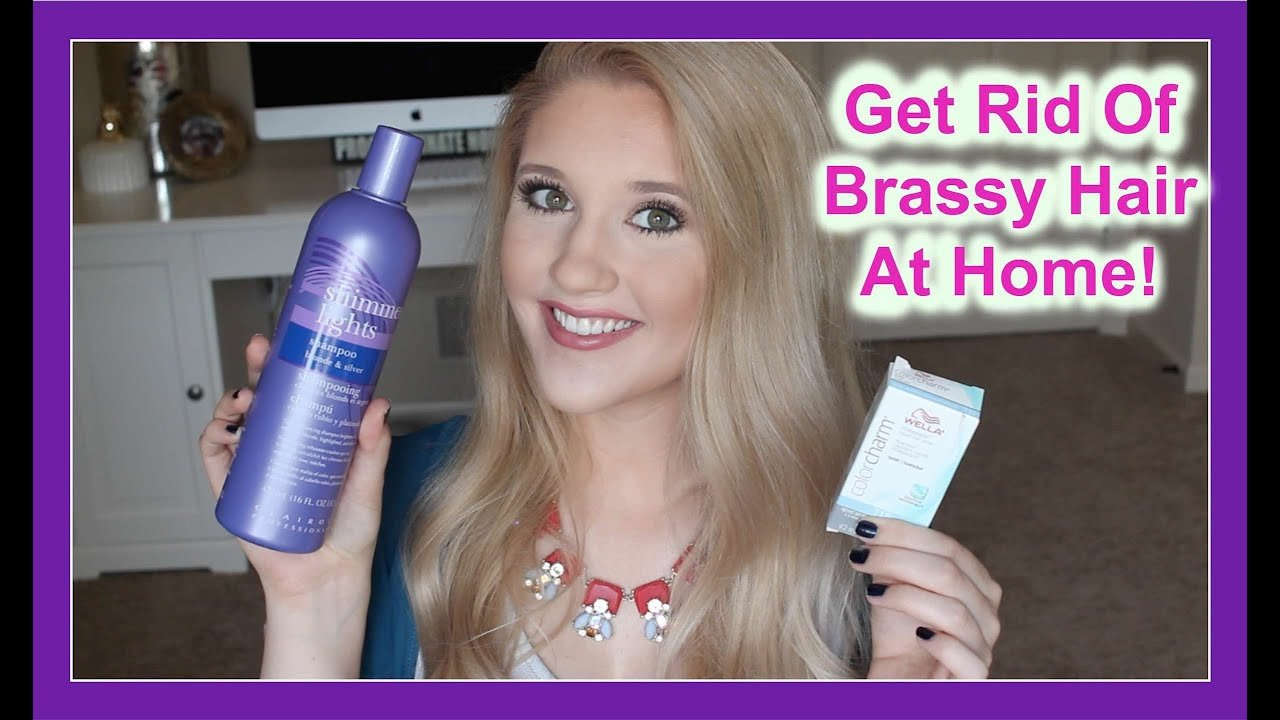 The Best Get Rid Of Brassy Hair With Wella Toner Youtube Pictures