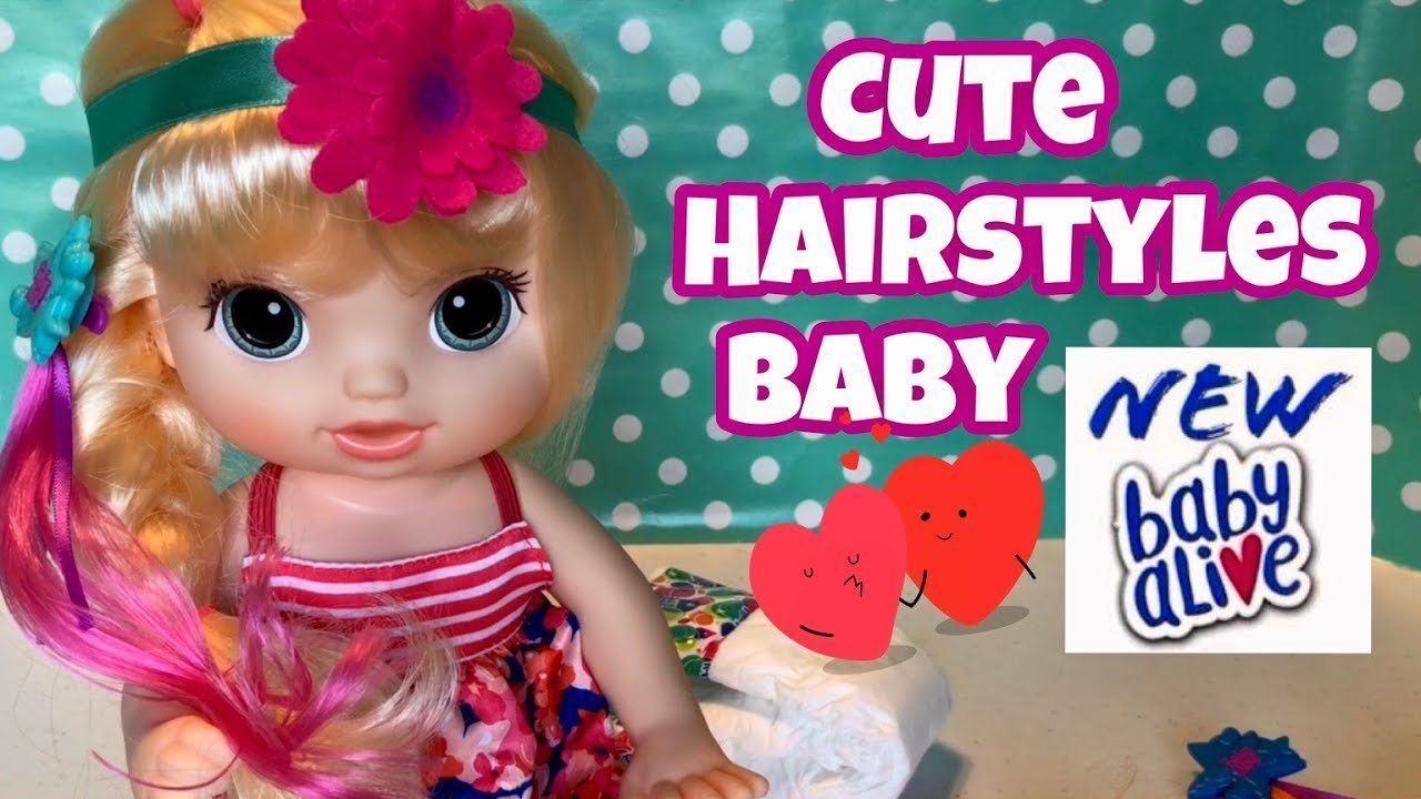 The Best Baby Alive Cute Hairstyles Baby 2017 Blonde Kohl's Pictures