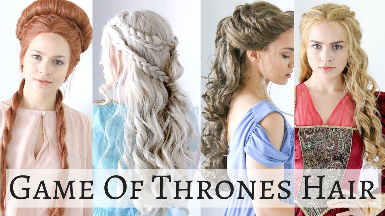 The Best Iconic Game Of Thrones Hairstyles Hair Tutorial Youtube Pictures