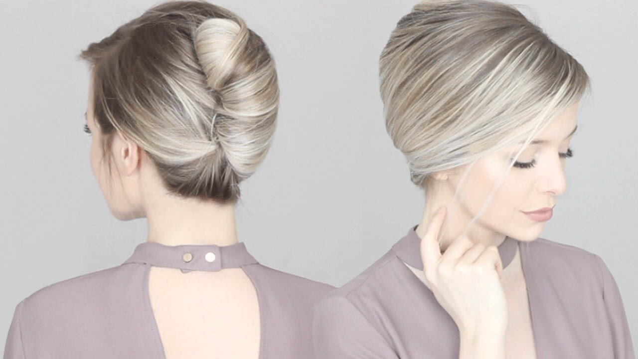 The Best How To French Twist Updo Hair Tutorial Youtube Pictures